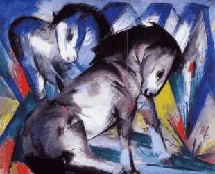 Two Horses — Франц Марк