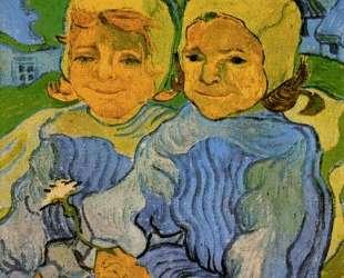 Two Little Girls — Винсент Ван Гог