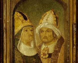 Две мужские головы — Иероним Босх