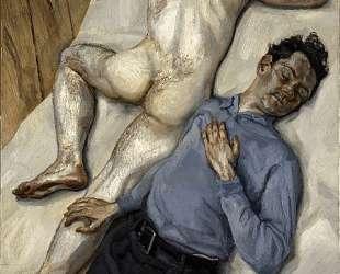 Двое мужчин — Люсьен Фрейд