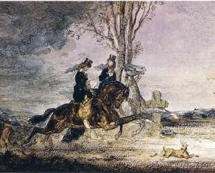Two Modern Horsewomen — Гюстав Моро