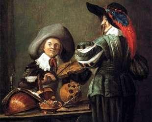 Two musicians — Юдит Лейстер