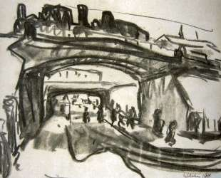 Two Railway Bridges in Dresden — Эрнст Людвиг Кирхнер
