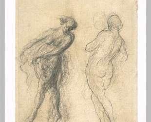 Два эскиза танцовщицы — Оноре Домье