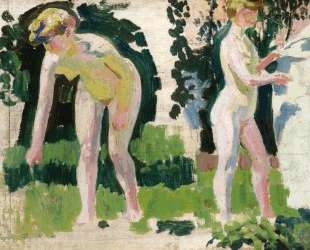 Two Studies of a Nude Outdoors — Морис Дени