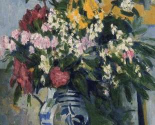 Two Vases of Flowers — Поль Сезанн