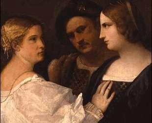 Две дамы и мужчина (Трио) — Джорджоне