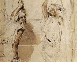 Две женщины у колодца — Эжен Делакруа