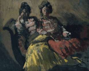 Two Women on a Sofa — Уолтер Сикерт