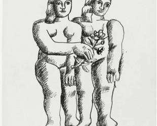 Two Women (Two Sisters) — Фернан Леже