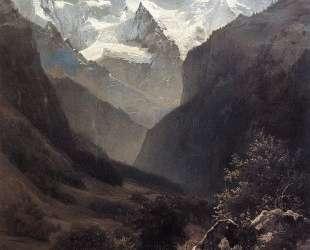 Вид в Швейцарских Альпах (Гора Малый Рухен) — Алексей Саврасов