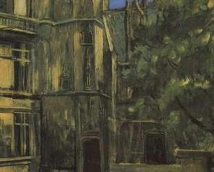 Вид музея Клюни в Париже — Кузьма Петров-Водкин