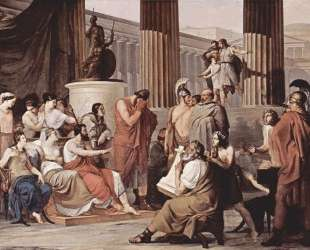 Ulysses at the court of Alcinous — Франческо Хайес