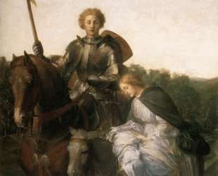 Una and the Red Cross Knight — Джордж Фредерик Уоттс