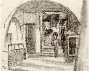 Under the arcades — Август Маке