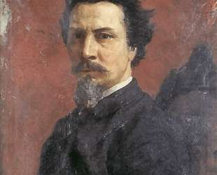 Unfinished Self-portrait — Генрих Семирадский