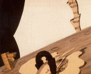 Untitled collage — Рене Магритт