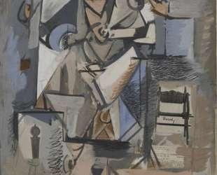 Без названия (Кубистическая фигура) — Аршил Горки