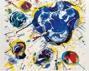 Untitled I (L. I 87) — Сэм Фрэнсис