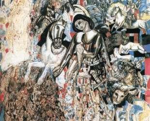 Святой Георгий Победоносец — Павел Филонов
