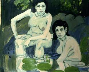 Untitled (Two Figures with Lilies) — Нил Уэлливер