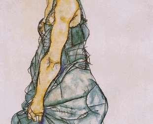 Upright Standing Woman — Эгон Шиле
