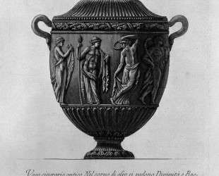 Urn vase with Bacchae and Divinity — Джованни Баттиста Пиранези
