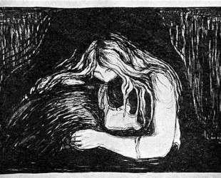 Вампир II — Эдвард Мунк