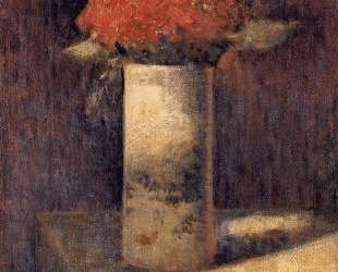 Ваза с цветами — Жорж Сёра
