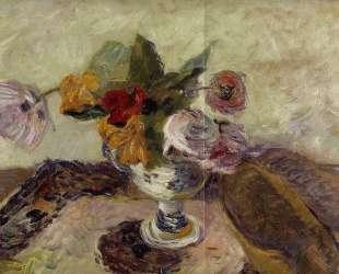 Ваза с цветами — Поль Гоген