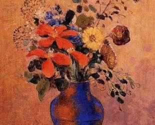 Vase of Flowers — Одилон Редон