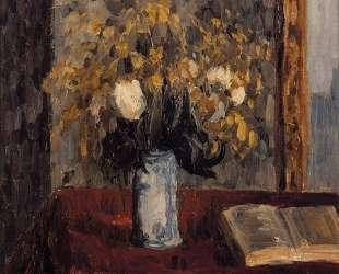 Vase of Flowers, Tulips and Garnets — Камиль Писсарро
