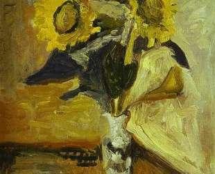 Vase of Sunflowers — Анри Матисс
