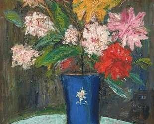 Vase with flowers — Морис Утрилло