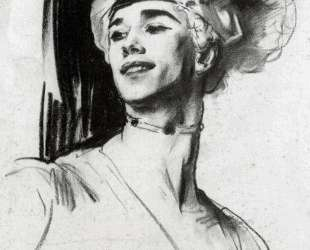 Vaslav Nijinsky in Le Pavillon d'Armide — Джон Сингер Сарджент