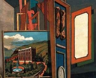 Обширный метафизический интерьер — Джорджо де Кирико