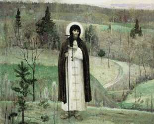 Преподобный Сергий Радонежский — Михаил Нестеров