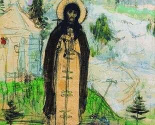 Venerable Sergius of Radonezh (sketch) — Михаил Нестеров