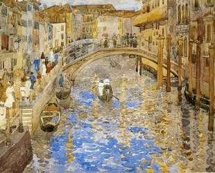 Venetian Canal Scene — Морис Прендергаст