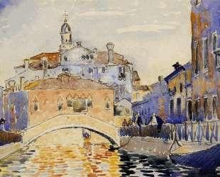 Venetian Canal — Анри Эдмон Кросс