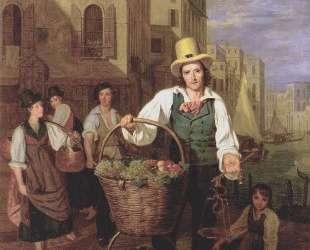 Venetian fruit seller — Фердинанд Георг Вальдмюллер