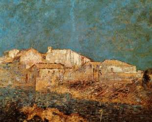 Venetian Landscape — Одилон Редон