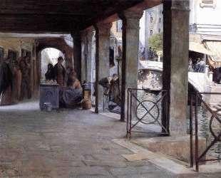 Venetian Market Scene — Юлиус Леблан Стюарт