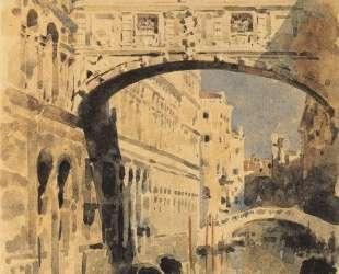 Venice. Bridge of Sighs — Михаил Врубель