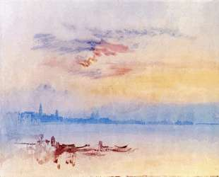 Venice, Looking East from the Guidecca, Sunrise — Уильям Тёрнер