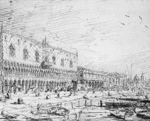 Venice: Riva degli Schiavoni — Каналетто