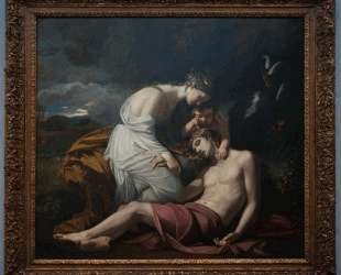 Venus Lamenting the Death of Adonis — Бенджамин Уэст