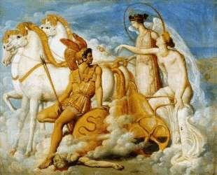 Венера, раненная Диомедом, возвращается на Олимп — Жан Огюст Доминик Энгр