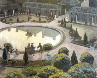 Версаль. Оранжерея — Александр Бенуа