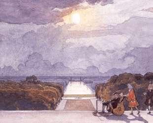 Версаль. Прогулка короля — Александр Бенуа